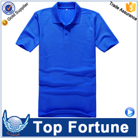 180 g plain solid color blank POLO shirt lapel collar custom wholesale