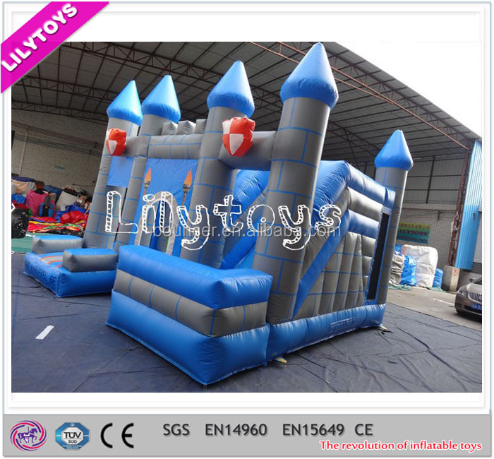 Used Inflatable Combo on Sale Big Inflatable Bouncy Castle For Kids