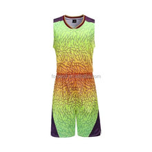 2017 High quality sublimation customized logo mesh jersey basketball jersey / Printing jersey