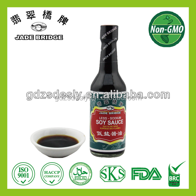 Small packing BRC Low salt soy sauce