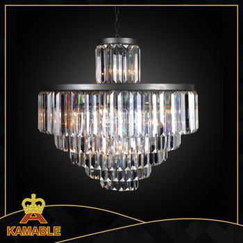 Popular spiral crystal chandelier