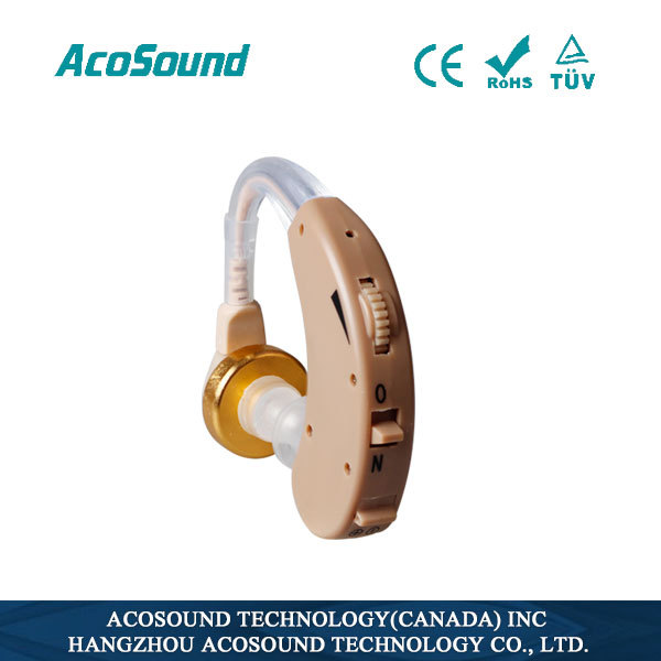 Acomate Recharger Bte Analog Hearing Aid Cheap China Sound amplifier