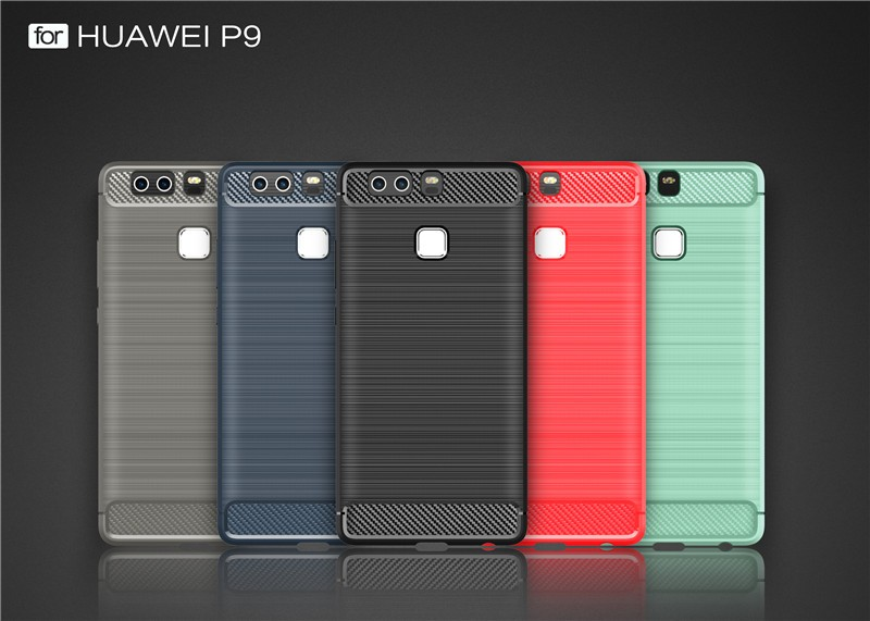 Luxury Second Layers Genuine Leather Cover for Huawei P9