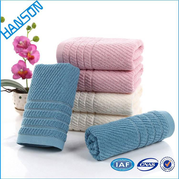 Ce Approved Non-Stick Oil Colorful Hand Towels Customised