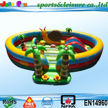 inflatable amusement park, inflatable fun city, fun city for kids