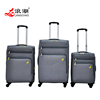 men nylon fabric expandable travel luggage new product color luggage