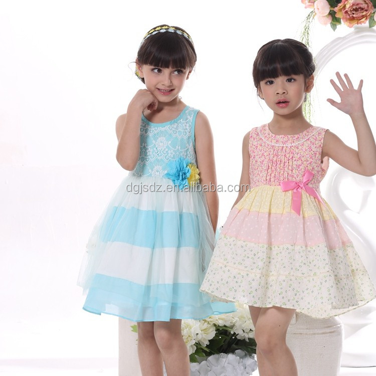 New fashion angel style baby girl party dress children frocks designs kids girls dresses