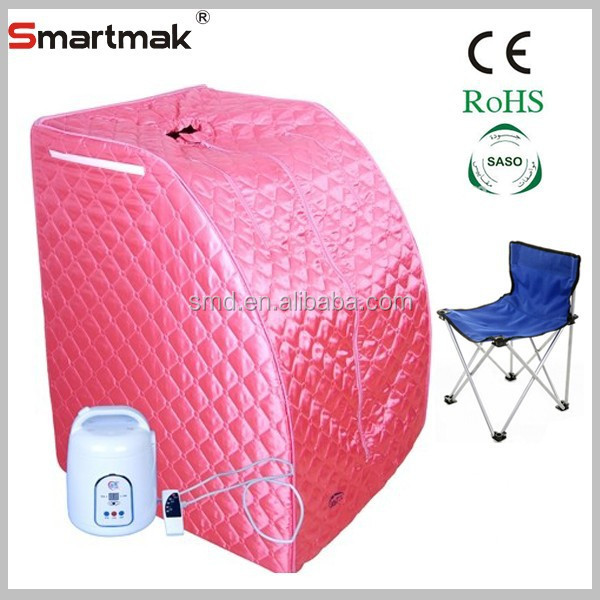 CE SASO PVC Pipe Portable Ozone Steam Sauna Tent For Sale