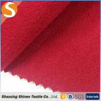 Low price Fashion design polyester knit suede fabric textile