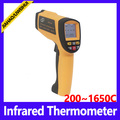 High temperature Infrared thermometer display hand-held infrared thermometer