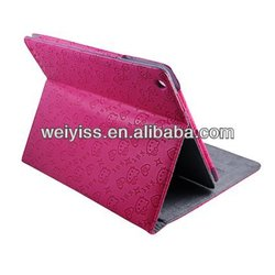 OEM Rose Red Hello Kitty 7.9 inch Leather Case for iPad Mini