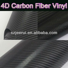 Car Decorated1.52*30M 3D/4D Carbon fiber Vinyl Stickers, Car Flim Wrap Air Bubble free adhesive sticker roll self healing China