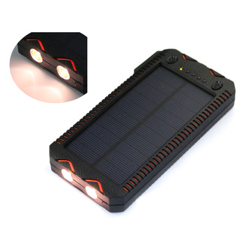 2017 populor product solar charger power bank kit for camp