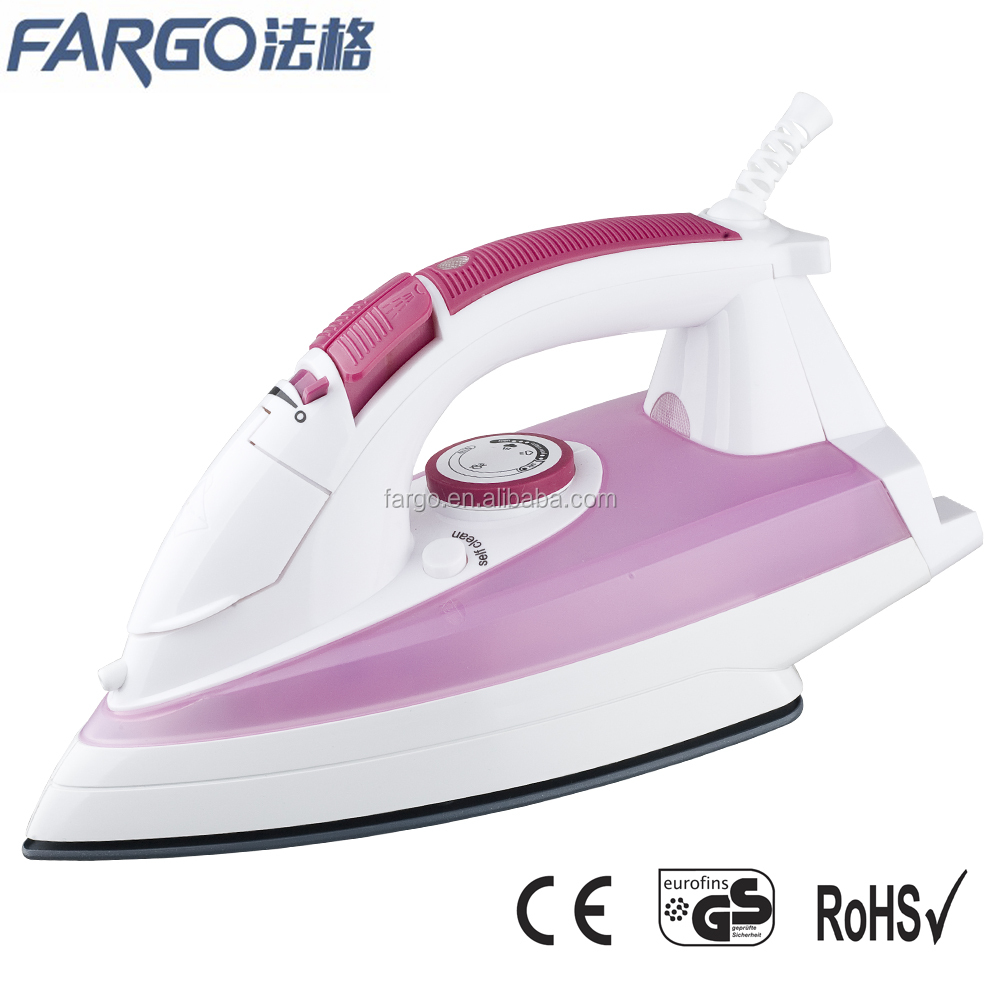 big size easy operation professional hotel electrical steam iron with anti drip