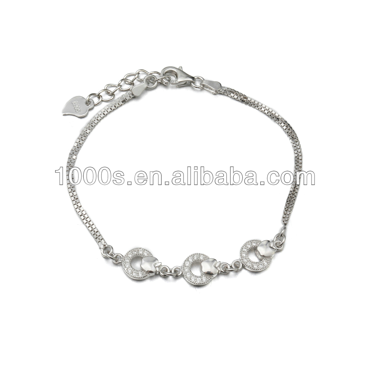 silver sterling 925 bracelet wholesale