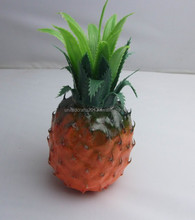Hot sale decorative artificial fake plastic pineapple fruits