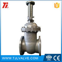 gost 12820 russia standard carbon steel gost stem gate valve Casting rising