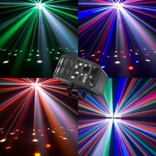 easy to operate 4in1 Auto double butterfly laser light