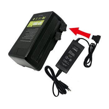 D-tap V-mount V-Lock battery 95w 150w 160w 190wh 230wh DC AC Charger for Sony HDCAM/XDCAM camcorder or studio video light