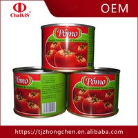 Canned Vegetables Chinese Tomato Paste Easy