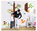 Owl Lion animal Tree Vinyl Wall Stickers kids Baby children Decor Home Wall Paper Decal deco Art Sticker New,Big