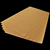 2018 Hot Sale Greaseproof Unbleached Parchment Paper Tray Pan Sheet Liners