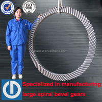 Spiral Bevel Gear For ZP49 5