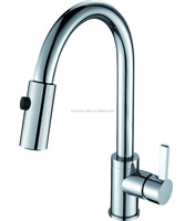 single handle swivel spout kitchen faucet