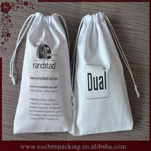 Factory Selling Drawstring Calico Cotton Bag Wholesale With Logo For Packaging