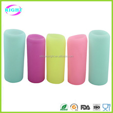 Silicone protective sleeves for glass bottle