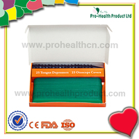 Best Selling Products Medical Disposable Plastic Color Tongue Depressor