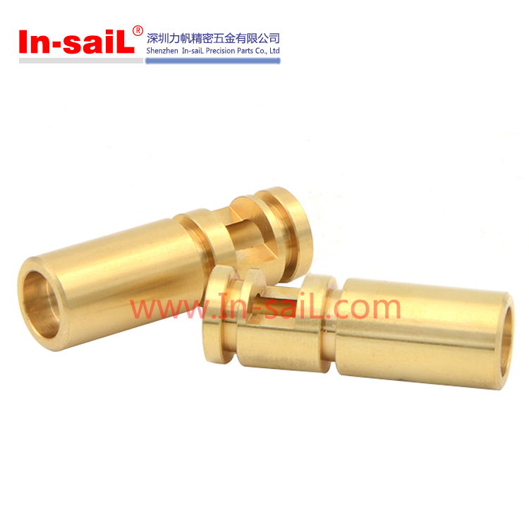 China supplier OEM service precision cnc lathe turning brass automobile parts manufacturer