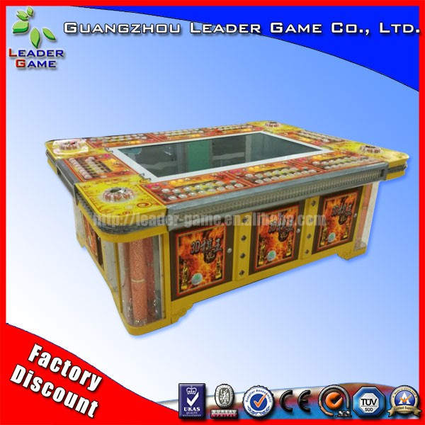 Top selling game ocean king 2 fishing game machine for sale