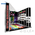 10x10 special exhibition booth design expo stands for trade show