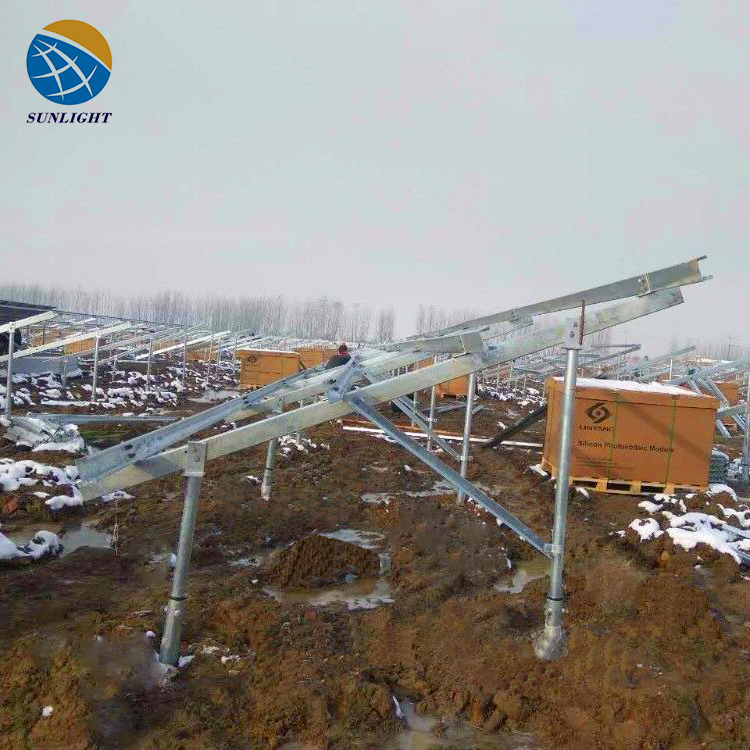 Supply Stand Structures / Solar Panel Support For Solar Power System