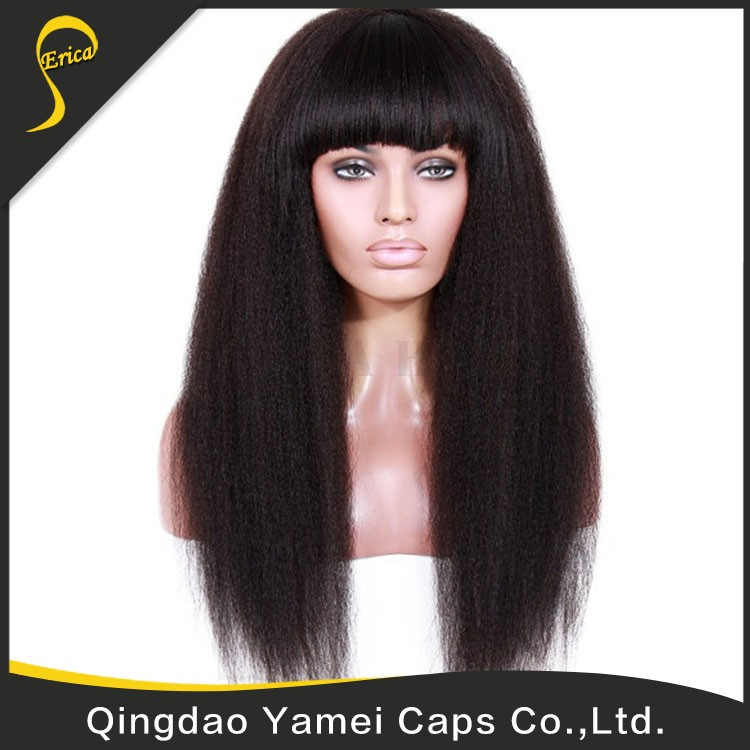factory price virgin full lace human hair wig with baby hair wigs
