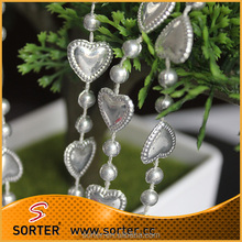 hanging decorative plastic ball chain for Christmas tree