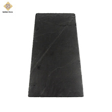Factory custom 20mm black slate stone with split surface
