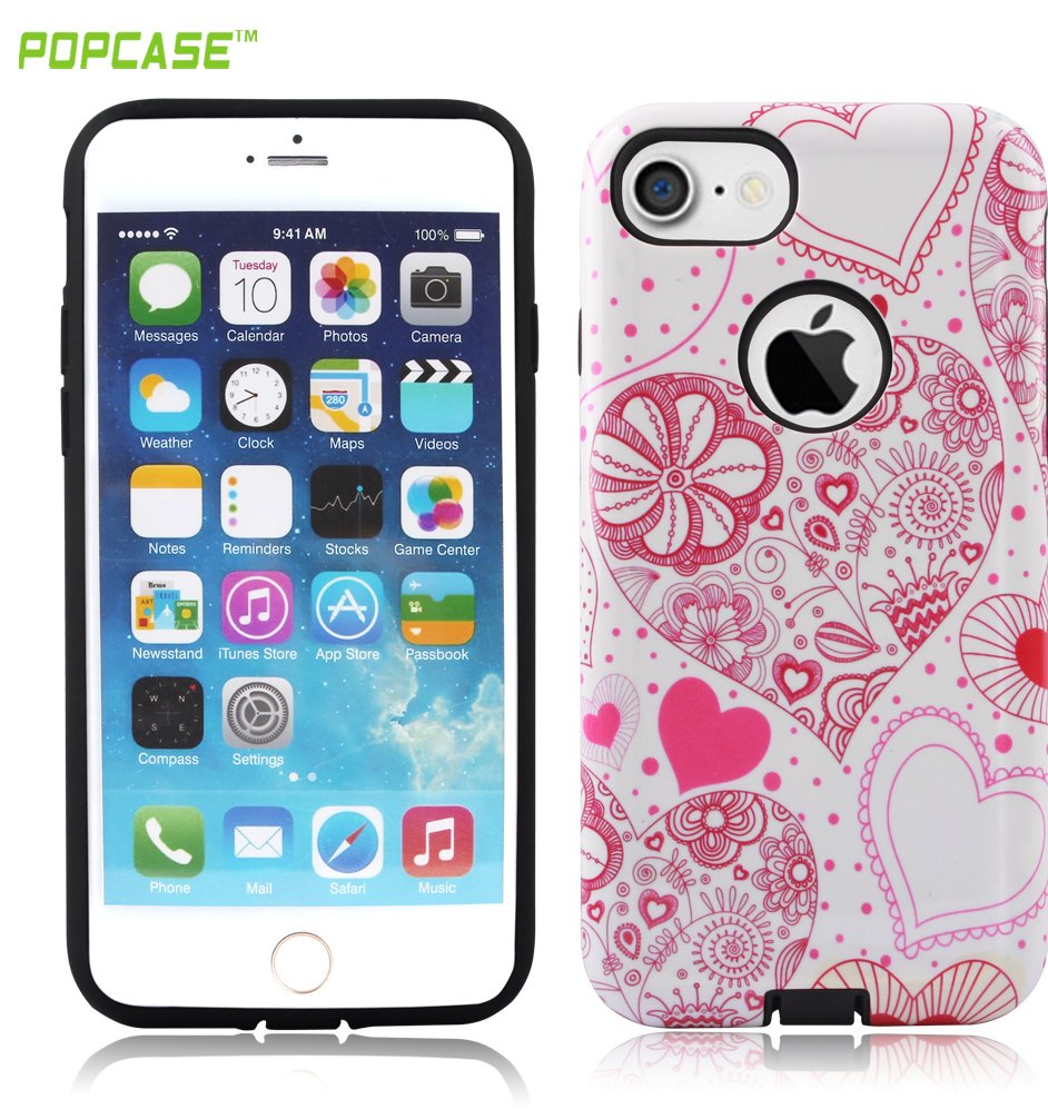 Hot sale water printing PC+TPU mobile phone case for iphone 7