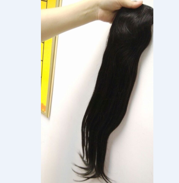 wrap around human hair ponytail 7a top grade quality human hair ponytail