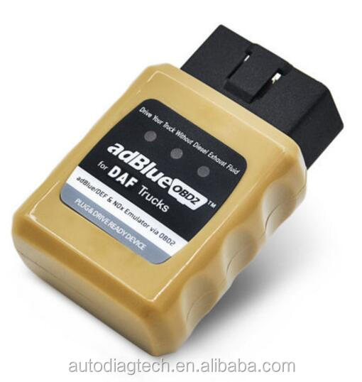 daf truck diagnostic tool OBD2 bluetooth For Diesel Heavy Duty 24v truck obd scanner for iveco