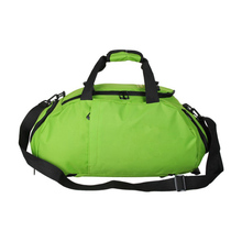 Custom Logo Nylon Green Luggage Travel Tote Bag