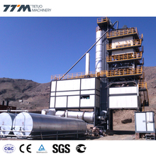 TTM factory GLB1500 stationary under-storage 120TPH asphalt batching mixing plant