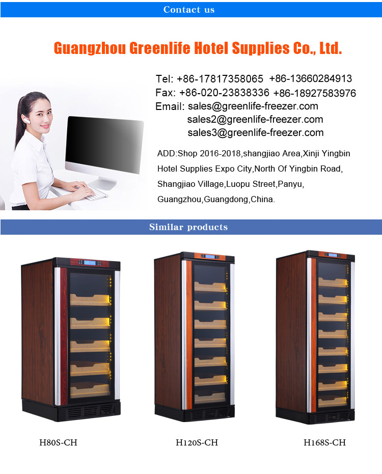 LVNI factory outlet wooden modern 1500pcs made in china electric cigar refrigerator cooler