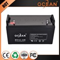 Oem 12V 120ah lowest price factory supply lead-acid battery
