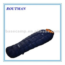 stylish white goosedown luxury sleeping bag