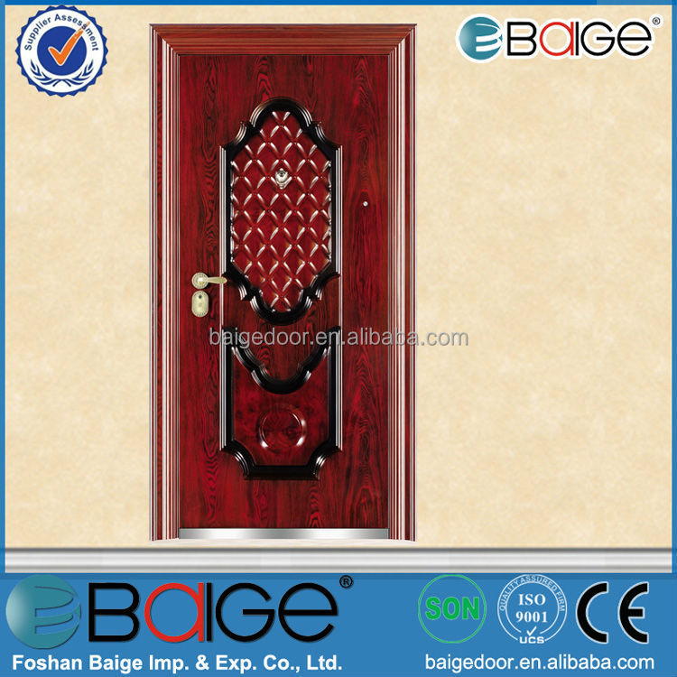 BG-S9203 Unique Home Designs Used Metal Security Doors Price
