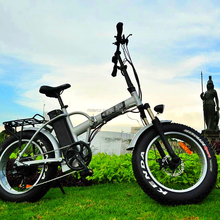 2017 New design 20inch fat tire electric bike with foldable frame RSEB507