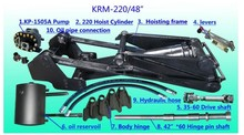 "Factory directly supply KRM220 48"" engine hoist hydaulic cylinder hoisting frame"