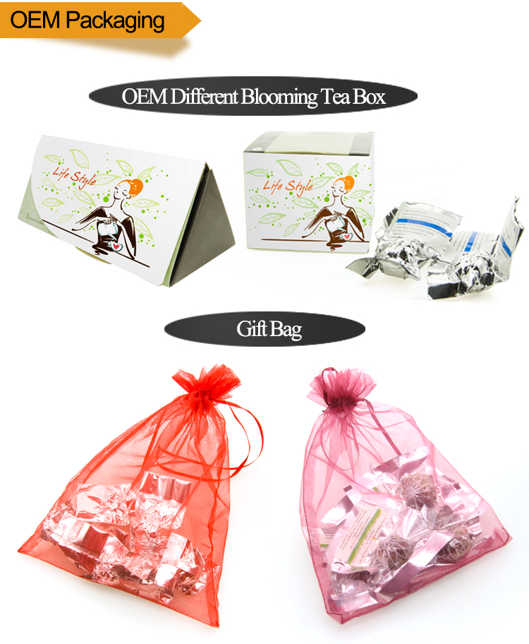 Chinese Characteristic G20 Gift Tea Sunrise Blooming Flower Tea